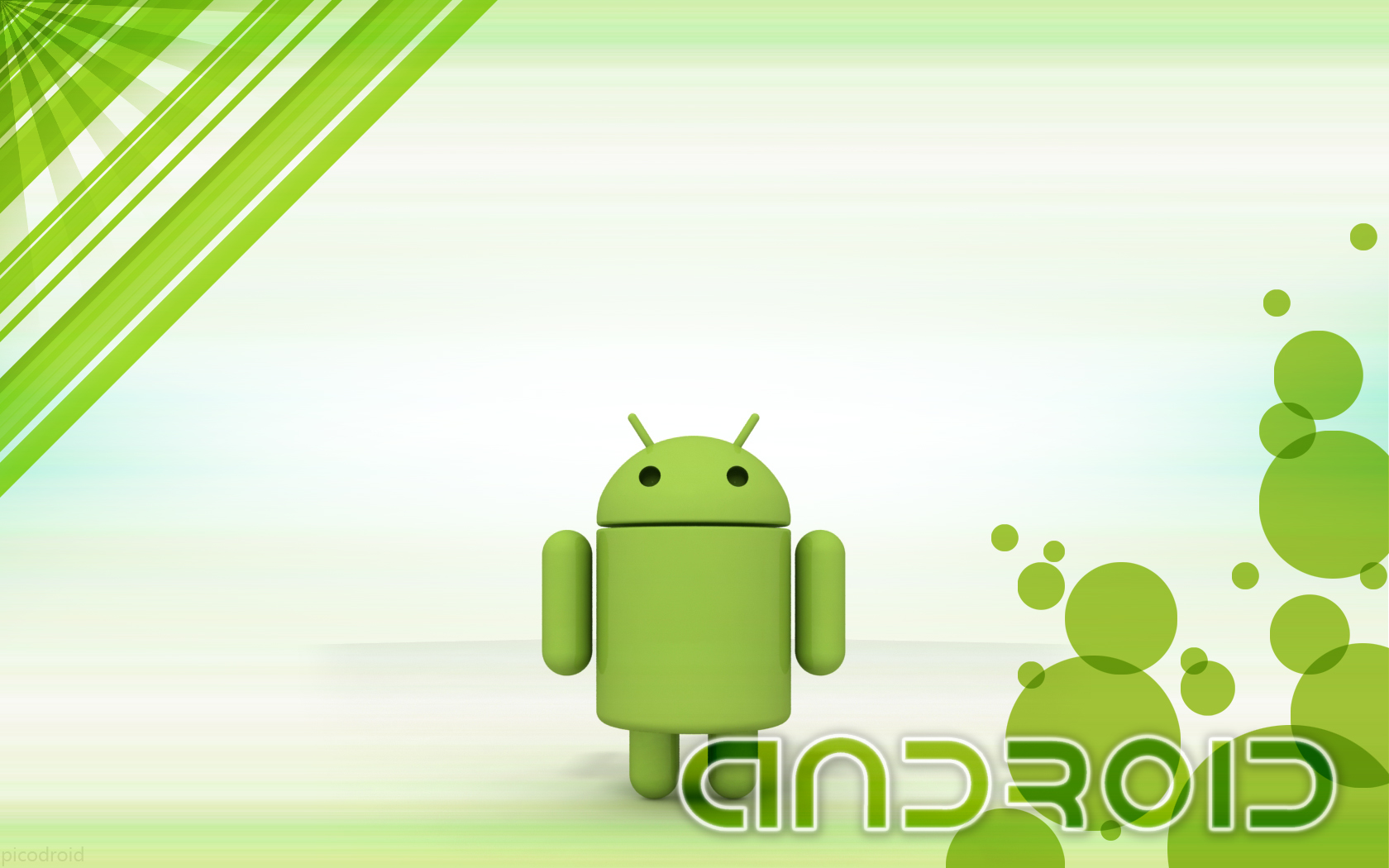 Wallpaper-Android-en-tonos-verdes-Full-HD