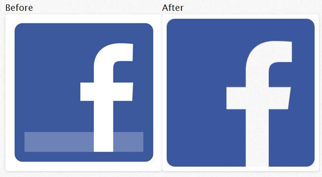 FacebookLogoBeforeAfter