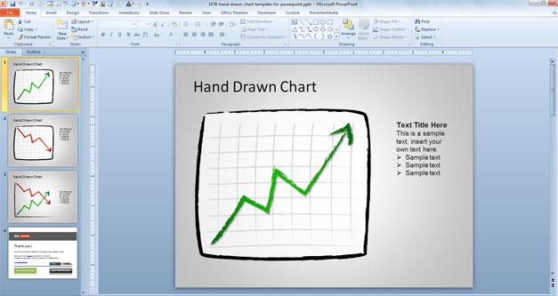 chart-template-powerpoint-gratis