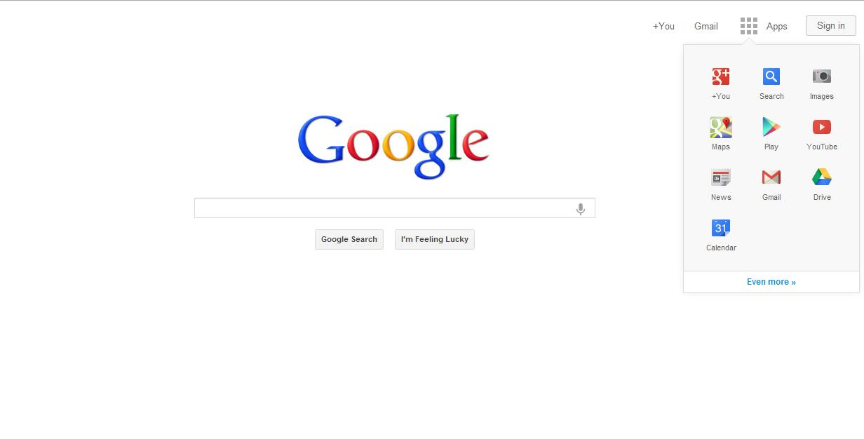 nuevo diseño google