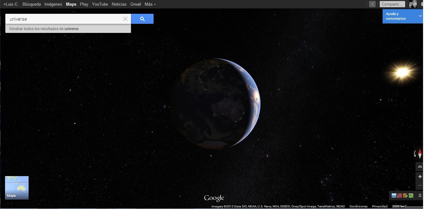 universo maps