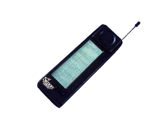 2bb8ff9aad8 Fue vendido por IBM en conjunto con BellSouth, el teléfono tenía cualidades  de calculadora, fax, correo electrónico. Su peso era de aproximadamente 500  ...