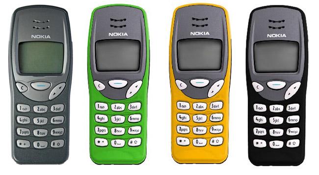 1999 Nokia 3210