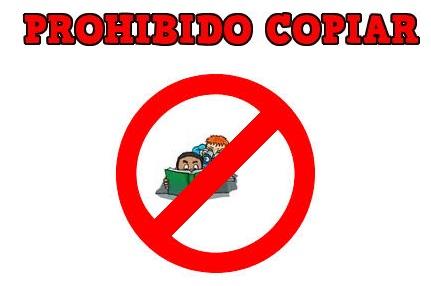 Prohibido copiar