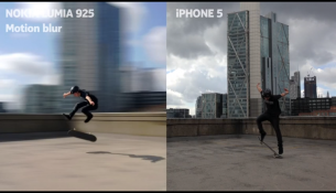 Lumia vs iphone camara