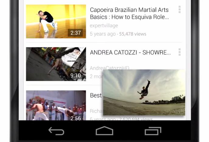 youtube actualiza 2