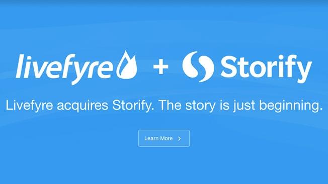 livefyre + storify