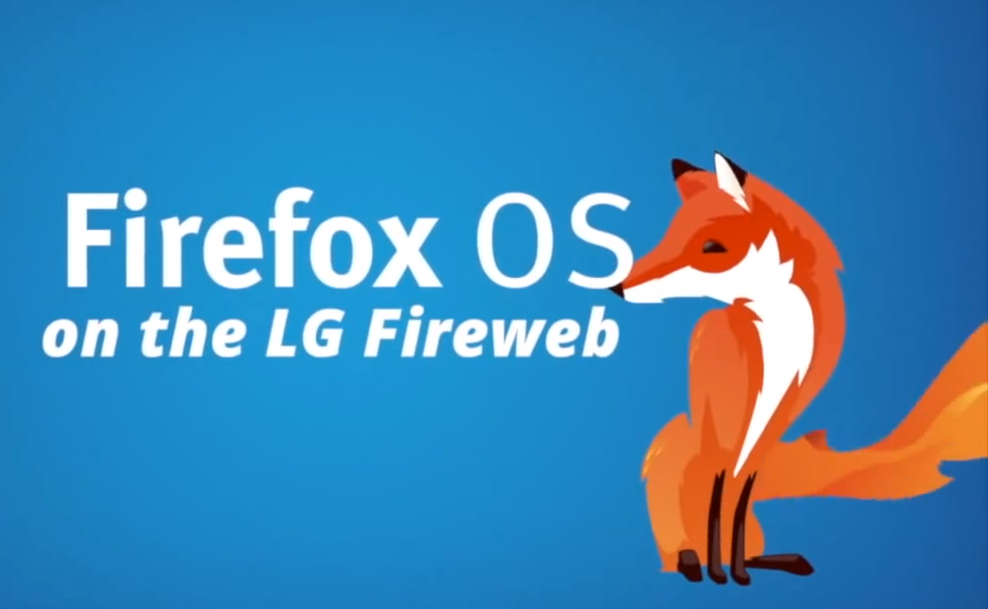 firefox os on lg fireweb