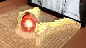 '3D' display lets you touch real world- CC CNN