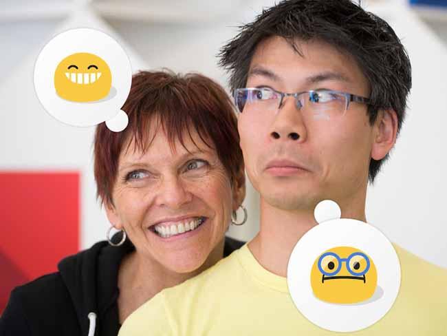 reconocimiento-facial emoticones