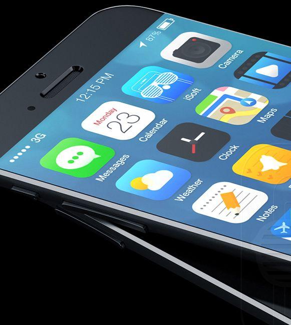 concepto de diseno iphone6