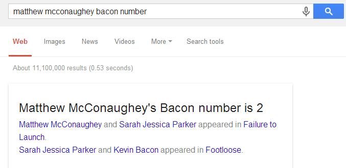 Google-BaconNumber