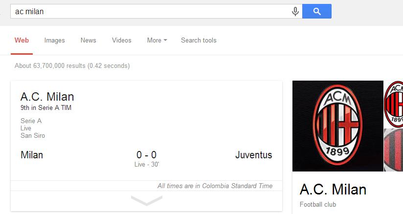 Google-CLub Futbol Stats