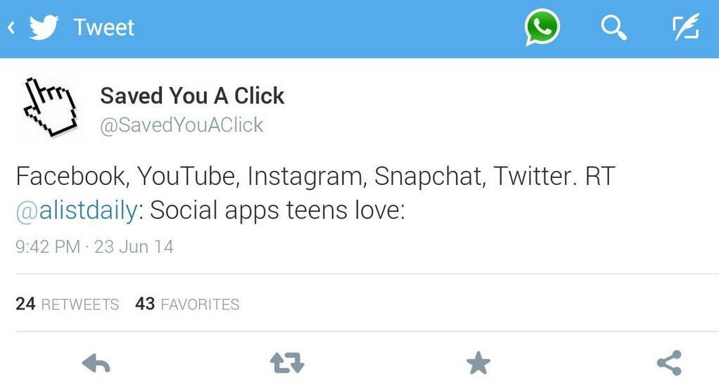 Twitter boton whatsapp