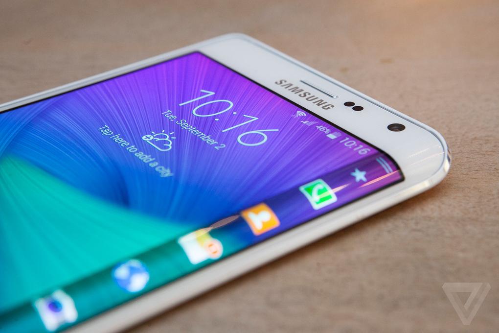 Galaxy Note Edge pantalla borde (1)