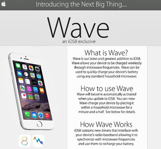 Wavefake ios 8