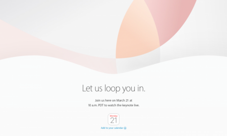 Apple event 21 march