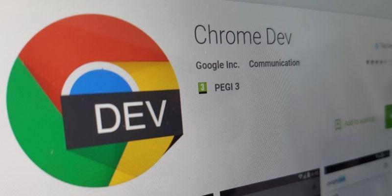Chrome Dev Android