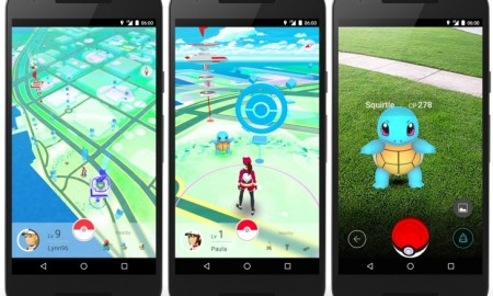 Pokemon go screenshots official