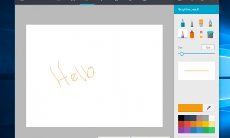 Paint app windows 10