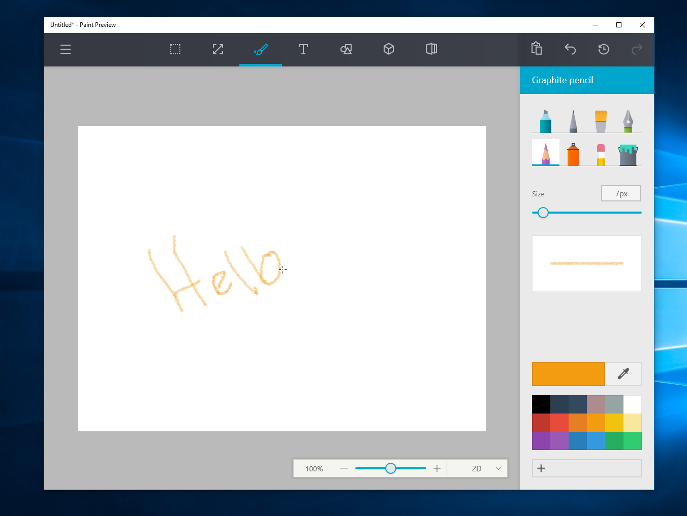 microsoft tendr a una nueva app de paint para windows 10