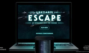 lightsaber with google