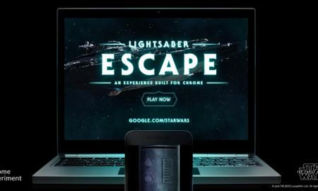 lightsaber with google