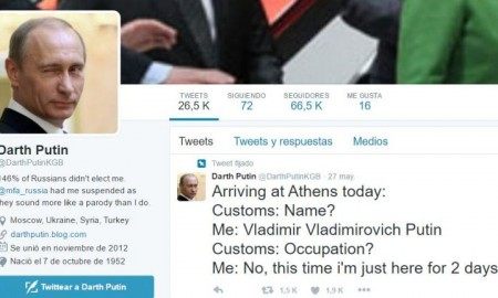 Twitter Darth Putin