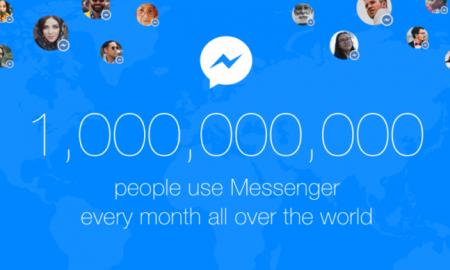 FB Messenger 1 billion users