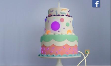 Facebook-video cumpleaños