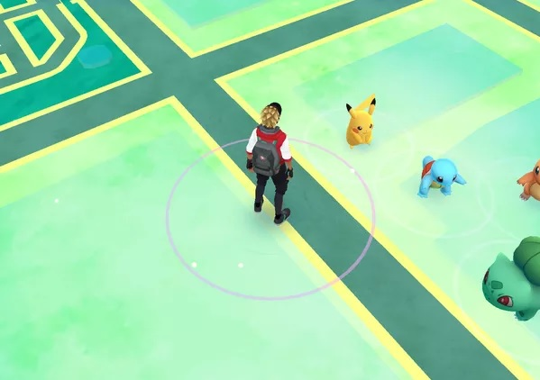 Encontrar Pikachu Pokemon Go