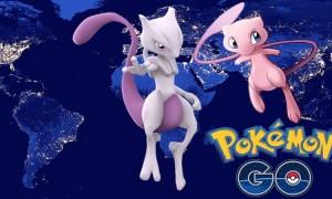 Pokemon Go Mewtwo y Mew