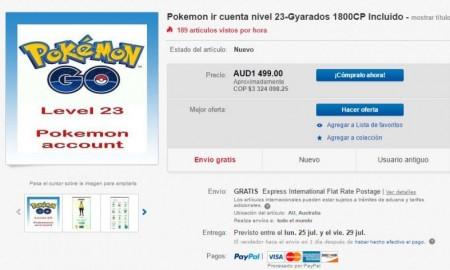 Pokemon go ebay