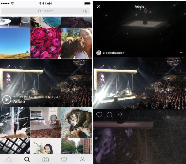 Eventos Instagram