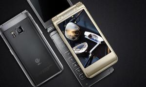 Samsung veyron smartphone flip