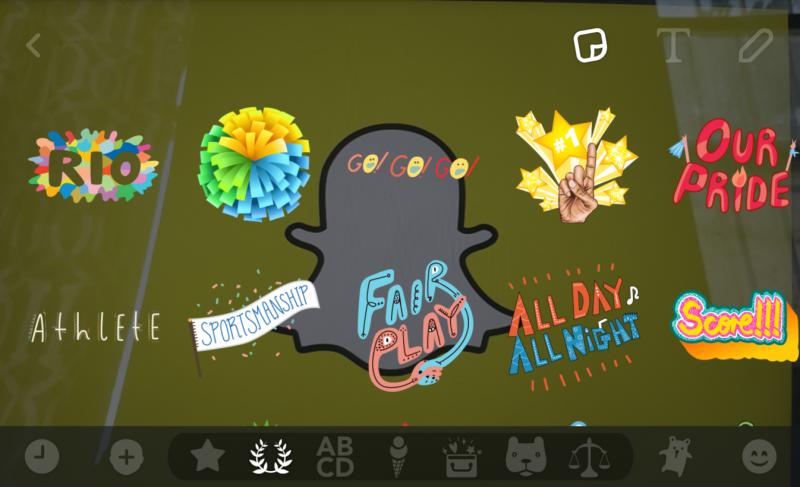 Snapchat rio
