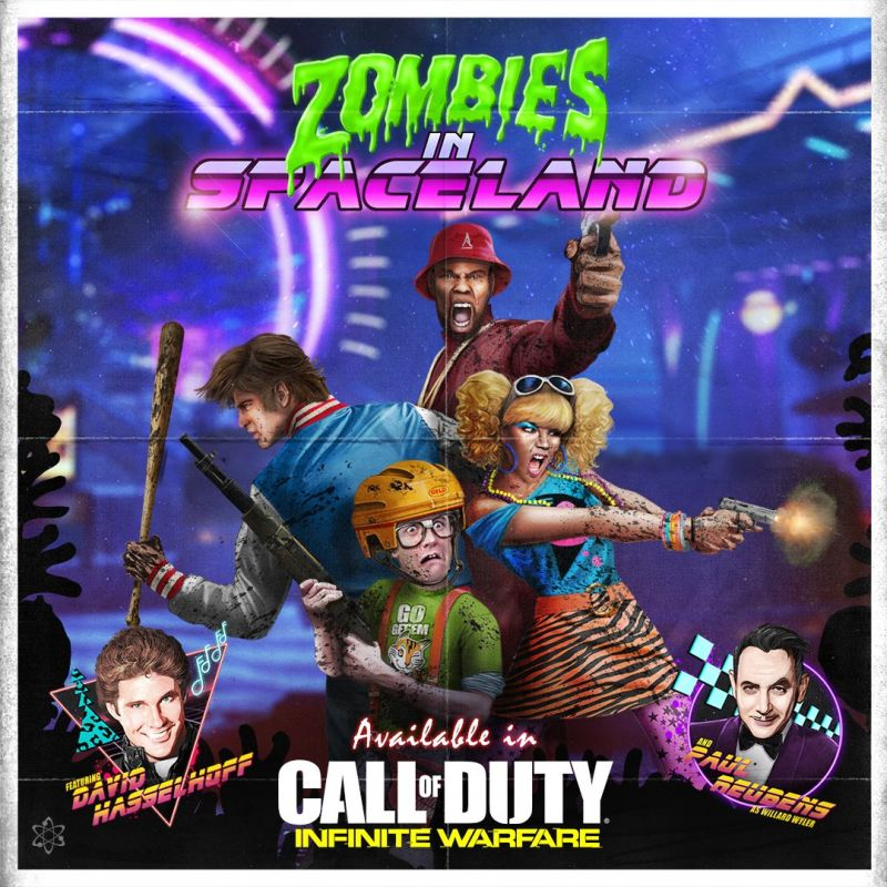 zombies in spaceland call of dutty