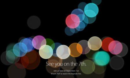 Apple evento iphone 7 en vivo
