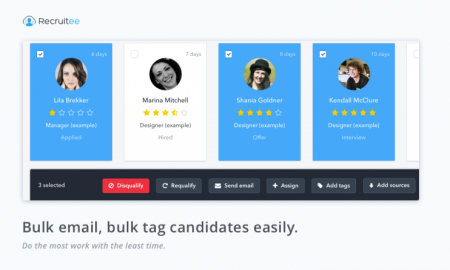 bulk-emailing-and-tagging-recruitee-recruitment-software