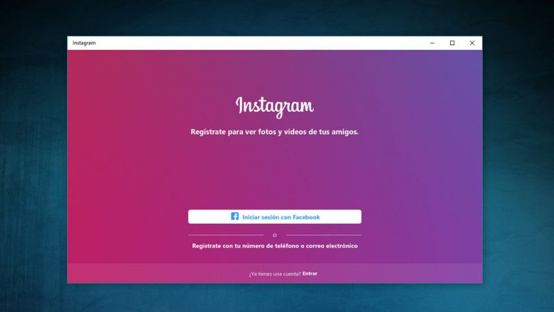instagram-windows10