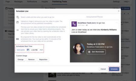 facebook-live-schedule