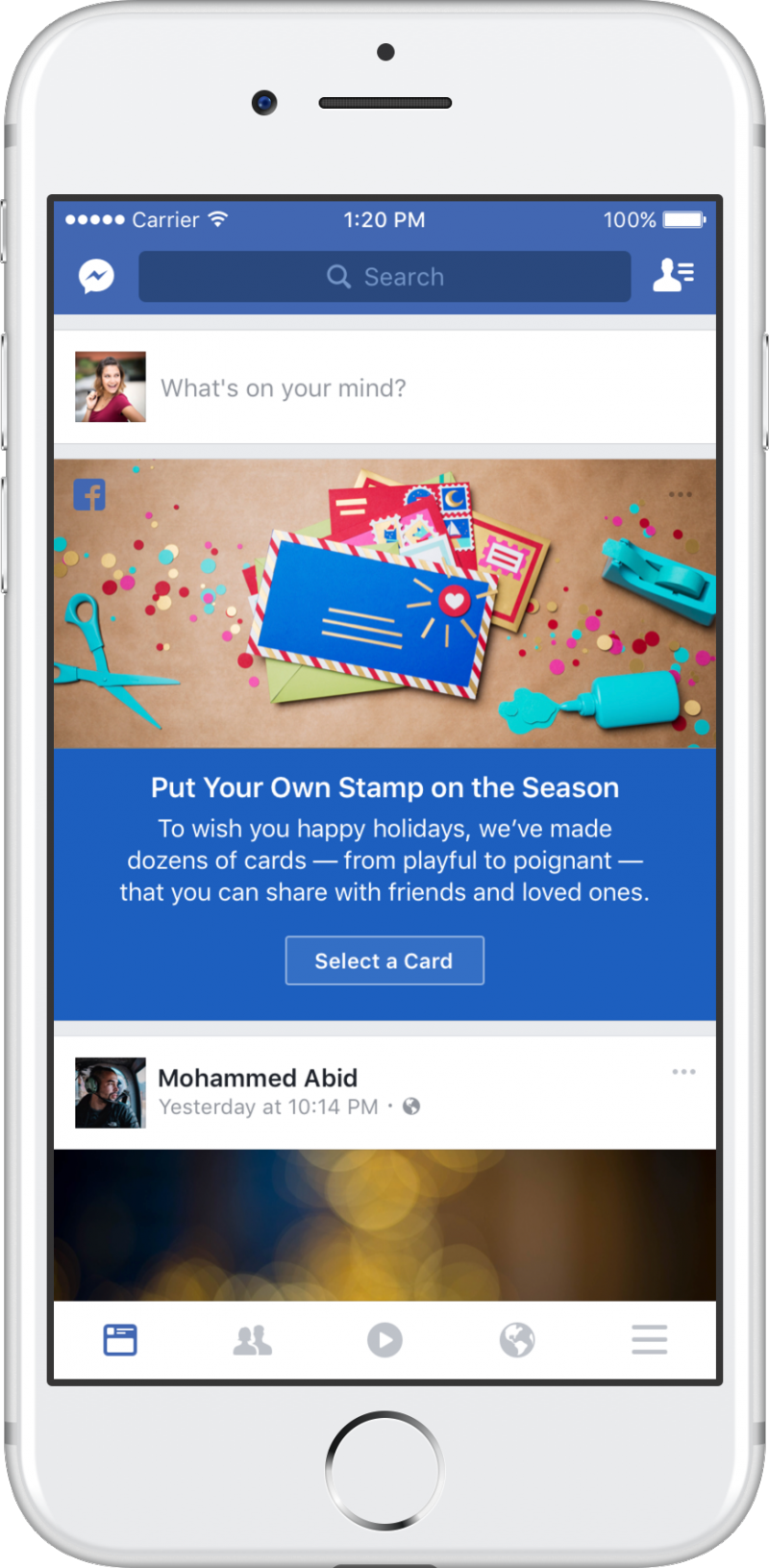 facebook-holiday-card-promo