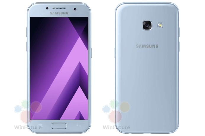 Filtran Los Renders De Los Galaxy A5 Y Galaxy A3 2017