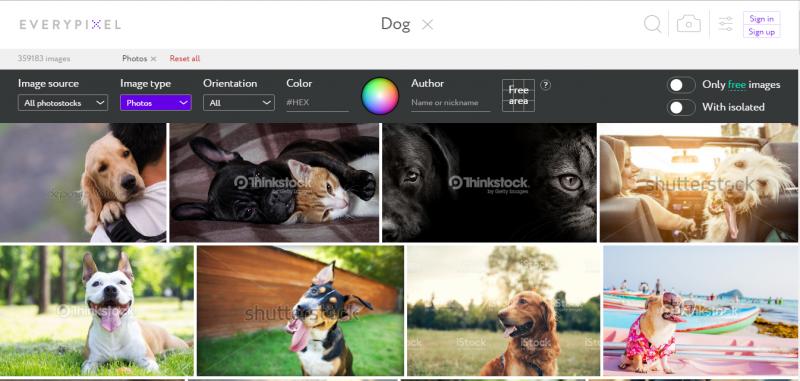Esta plataforma web nos permite descargar imágenes libres ...