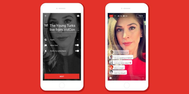 YouTube ya permite realizar transmisiones en directo