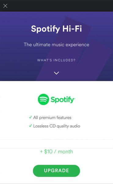 Spotify añade una nueva función para aumentar la calidad del audio