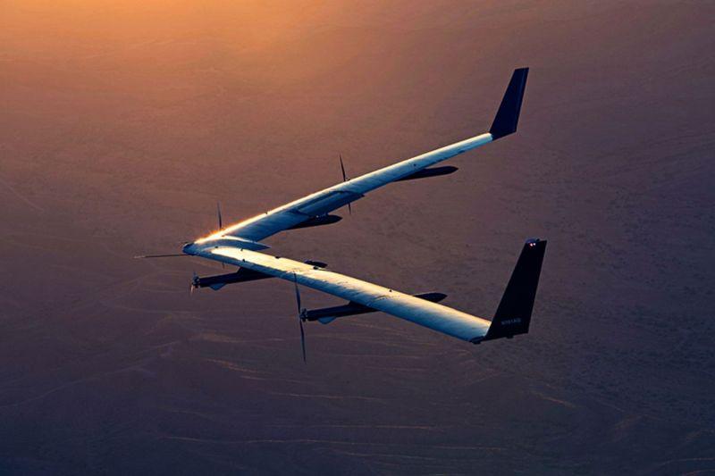 El dron de Facebook, Aquila, terminó con éxito su segundo viaje