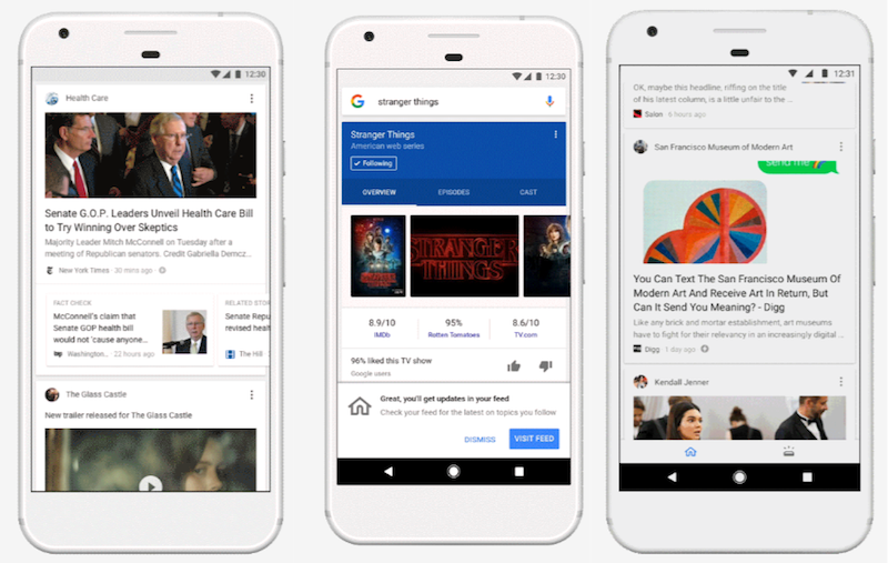 App de Google renueva su feed y se acerca a Facebook