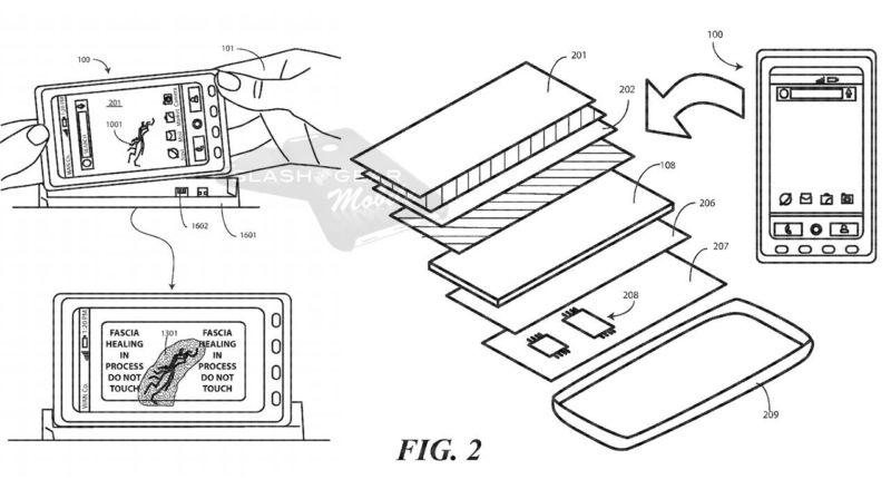 Motorola patenta pantallas auto-reparables con calor