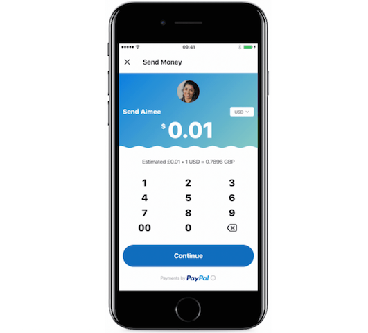 Manda dinero desde Skype usando PayPal